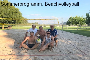 Sommerprogramm: Beachvolleyball